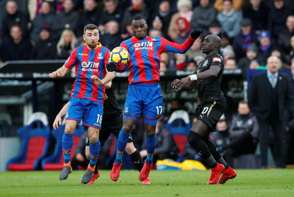 benteke gaspille avec crystal palace face à newcastle (1-1) - B9714646507Z - Benteke gaspille avec Crystal Palace face à Newcastle (1-1) -  actu diables rouges